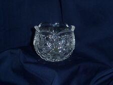 24% Lead Crystal Cut Glass Trinket Bowl