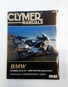 BMW K1200RS K1200GT K1200LT Clymer Workshop Manual 1998 - 2005