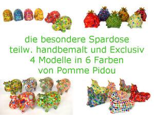 Spardose / Sparbüchse / Geldgeschenk / Hochzeit / Pomme Pidou / in 4 Var. + 6 Fb
