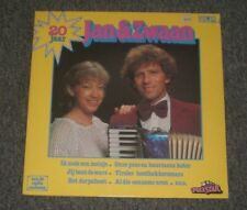 Jan & Zwaan~20 Jaar~1981 Pop / Schlager~Netherlands IMPORT~FAST SHIPPING