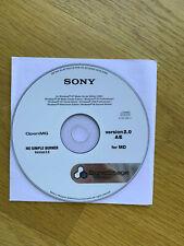 SonicStage v2.0 Software CD Net MD #2
