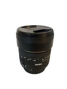 Sigma 15mm Fisheye lens Canon Mount