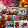 Flowers DIY Paint By Numbers Kit Digital Oil Painting Artwork Home Wall Decor