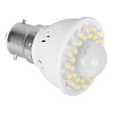 2.4 Watt BC B22 32 LED PIR Sensor Lamp Bulb Warm White 3000K Light Lightbulb A+