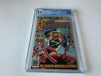 MS MARVEL 23 CGC 9.6 WHITE PAGES MAJOR VANCE ASTRO LAST ISSUE MARVEL COMICS 1979