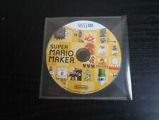 *Disc Only* Super Mario Maker Nintendo Wii U Video Game PAL