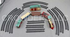 Dickensville Limited Train Set Engine Coal & Passenger Car Caboose Christmas 89