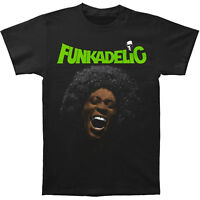 George Clinton and Parliament Funkadelic Free Your Mind Men's Tee Shirt Black
