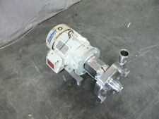 Fristam FPR742 Centrifugal Pump with 5 HP Reliance Motor