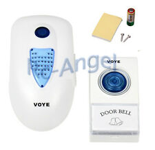 Plug-in LED Wireless Chime Door Bell Doorbell & Wireles Remote control 38 Tune