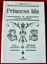 GILBERT & SULLIVAN PRINCESS IDA LIBRETTO BOOK (1986)
