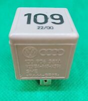No 109 VW AUDIT ECU ENGINE CONTROL MODULE RELAY 357 906 381 A 357906381A GENUINE
