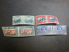 Union of South Africa Scott B5-8/Stanley Gibbons 76-79 Mint OG CV $83