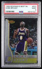 1996-97 Bowman's Best Rookies #R23 Kobe Bryant RC, PSA Mint 9