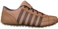 KSWISS Phaze mens leather Tan brown trainers Size 6uk Lace-up Leather Lining