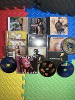 LOT OF 13 RAP HIP HOP R&B CDS Rare Underground FUGEES LAURYN HILL ALICIA KEYS