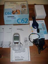 Cellulare SIEMENS C62 ORIGINALE PERFETTAMENTE FUNZIONANTE+SCATOLA ACCESSORI