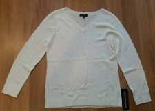 WOMAN WHITE SWEATER SIZE S FREE SHIPPING!!!