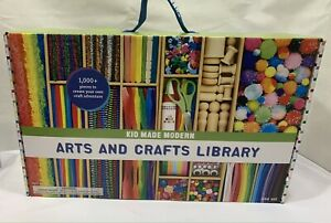 Kids Arts & Crafts Library 1000+ Pieces