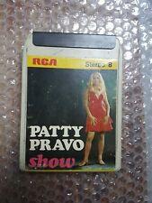 PATTY PRAVO '' PATTY PRAVO SHOW '' STEREO 8 RCA USATA  VG/VG