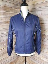 Woman's New Balance Blue Wind Breaker Jackets Size S
