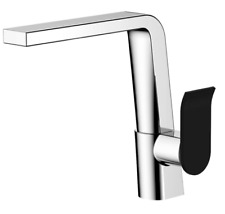 LINCOLN Swivel Sink Mixer, Mixed Finish