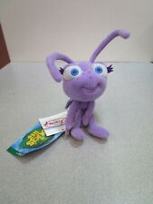 "Disney Store A Bug's Life Princess Dot Beanie 7"" Bean Bag Plush with Tags"