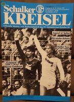FC Schalke 04 Schalker Kreisel Magazin 31.10.1987 Bundesliga Mönchengladbach /84