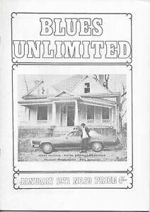 BLUES UNLIMITED : No.79 : January 1971 : Juke Boy Bonner & Kid Stormy Weather