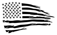 DISTRESSED FLAG Large Stencil Template Airbrush Paint  10 1/2