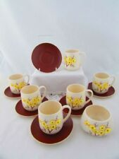 Ceramic Cups & Saucers Tableware Date-Lined Ceramics