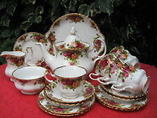 Royal Albert 'Old Country Roses' Bone China 23 Piece Tea Service - 1st Quality