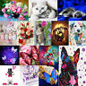 DIY 5D Butterfly Diamond Painting Embroidery Cross Stitch Kits Mosaic Home Decor