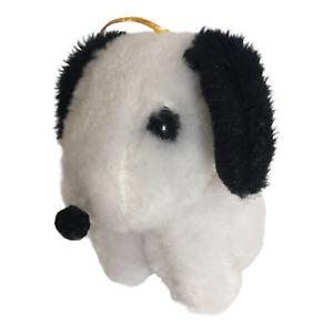 Dan Brechner Snoopy Dog Stuffed Animal Vintage Black White Korea Plush Toy Small