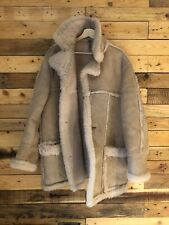 Vintage Luxurious Sheepskin Coat