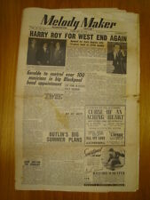 MELODY MAKER 1949 FEB 19 HARRY ROY LEW STONE GERALDO
