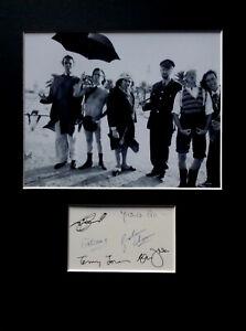 MONTY PYTHON signed autographs PHOTO DISPLAY John Cleese Michael Palin