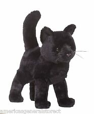 "MIDNIGHT BLACK CAT 9"" by Douglas Cuddle Toy stuffed soft animal PLUSH"
