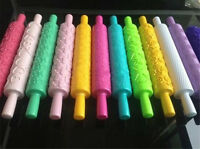 Rolling Pin Fondant Cake Sugarcraft Embossed Decorating Mold Gum Paste Tool mold