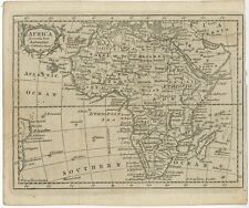 Antique Map of Africa by Kitchin (c.1770)