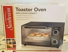 Sunbeam Toaster Oven with 4 Slice Capacity Brand New Sealed