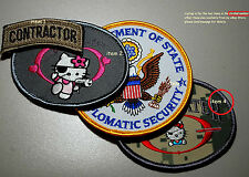 Us Embassy Bagdad Staat Dept Wps Private Contractor Kitty Team Camouflage Ssi (