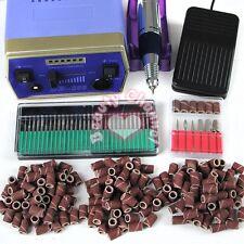 Professional Electric Acrylic Nail Drill File Machine Kit Bits Manicure Set