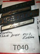 FORD Expedition Eddie Baurer Emblem Qty 2  NICE  OEM#T040    E