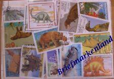 100  verschiedene Dinosaurier ,  prehistorische Tiere , Tiere der Urzeit