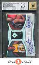 2007 Kevin Durant/Al Horford Rookie Dual Auto Ultimate Write of Passage RC /25