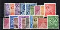 Seychelles 1954-61 set to 10r MLH/MH
