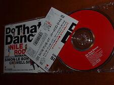 Nile Rodgers - Do That Dance Japan cd ep Simon Le Bon Duran Chic Crowell Sisters