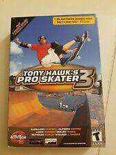 TONY HAWK'S PRO SKATER 3 ACTIVISION O2 GAMES PC CD-ROM FACTORY SEALED BOX SET