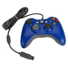 Wired USB Controller Joypad for Microsoft Xbox 360 Windows 7/8/10 Blue